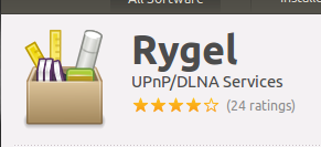 Rygel - Ubuntu Software center